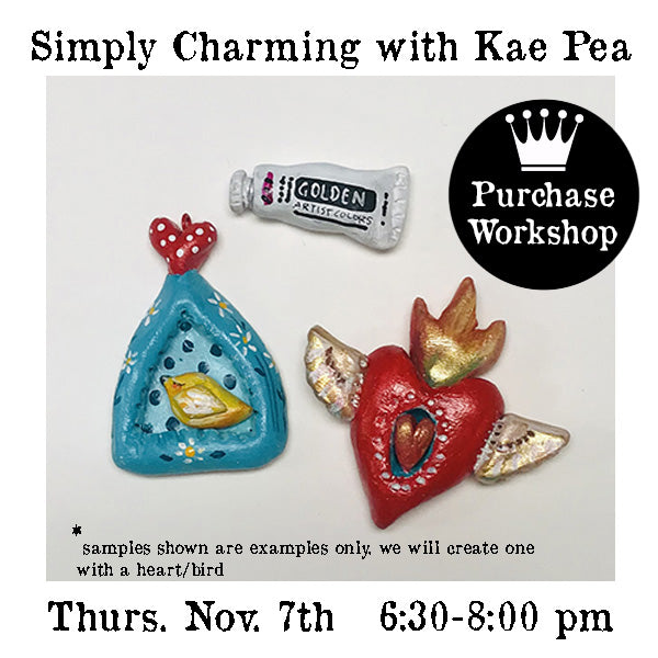 Workshop | Simply Charming! with Kae Pea