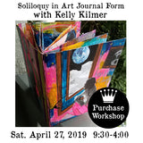 Workshop | Soliloquy in Art Journal Form with Kelly Kilmer