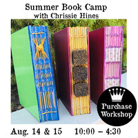 Workshop | Summer Book Camp with Chrissie Hines