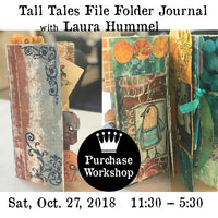Workshop | Tall Tales File Folder Journal with Laura Hummel