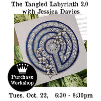 Workshop |  The Tangled Labyrinth 2.0 with Jessica Davies