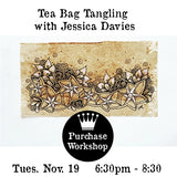 Workshop | Tea Bag Tangling with Jessica Davies