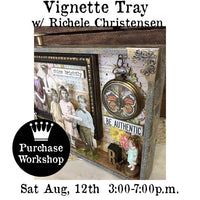 Workshop | All the Pretty Children Vignette Tray with Richele Christensen