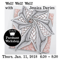 Workshop | Well! Well! Well! with Jessica Davies