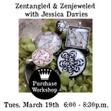 Workshop | Zentangled and Zenjeweled with Jessica Davies