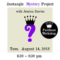 Workshop | Zentangle Mystery Project with Jessica Davies