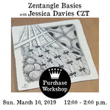 Workshop |  Zentangle Basics with Jessica Davies
