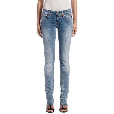 Replay Women's Vicki Straight Jeans, Blue (Blue Denim 10), W25 L30 (Manufacturer Size 25)