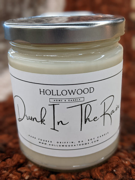 Drunk In The Rain Soy Candle