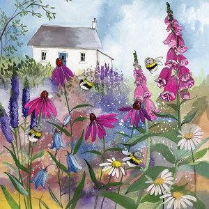 Alex Clark Card, Bee Garden