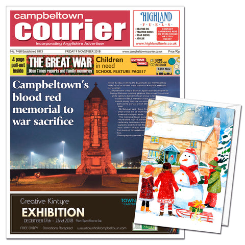Campbeltown Courier Digital Subscription Gift Cards
