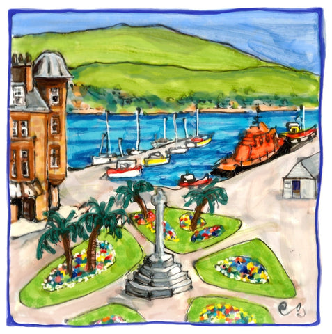 Campbeltown Cross by Elspeth Gardner