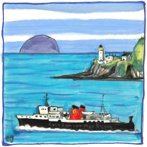 Davaar Island & Ferry by Elspeth Gardner