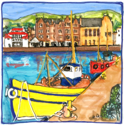 Campbeltown Harbour by Elspeth Gardner