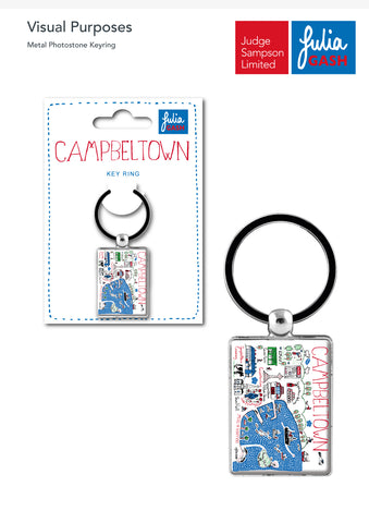Campbeltown keyring