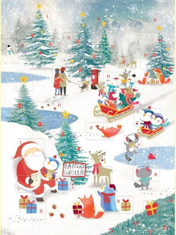 Advent Calendar - Christmas Scene