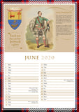 Scottish Clans Calendar 2020