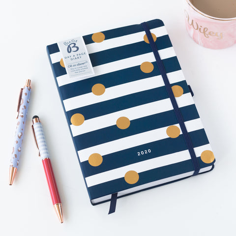 Busyb Day a Page Diary 2020 - HALF PRICE