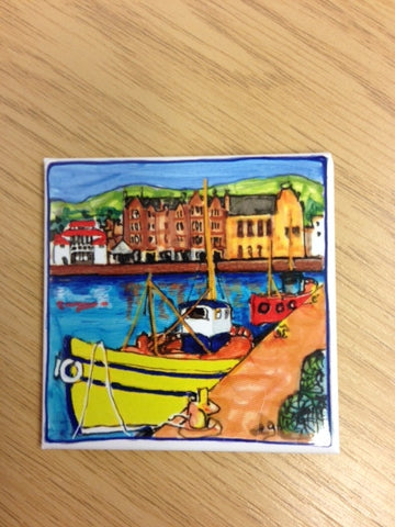 Fridge Magnet - Campbeltown Harbour