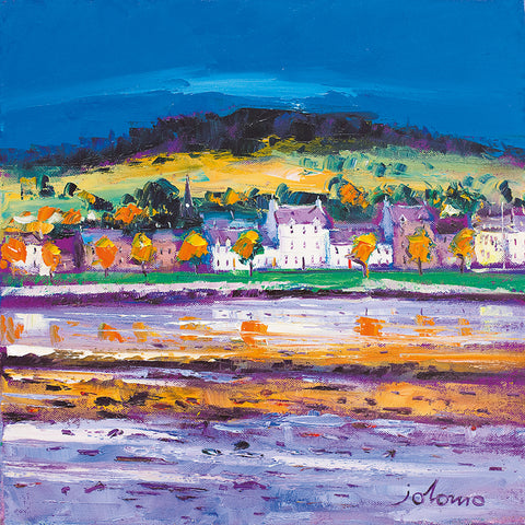 Jolomo Card - Autumn Morning Lochgilphead