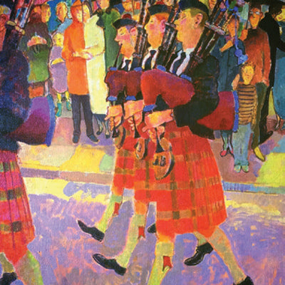 Pipe  Band by Tim Cockburn