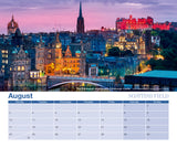 Scottish Field Miniature Calendar 2020