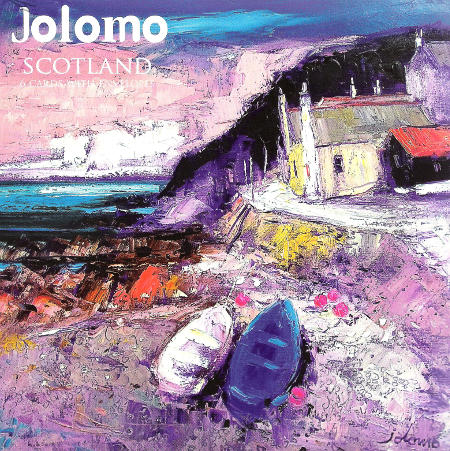 Jolomo Wallet - Scotland 6 Card Set