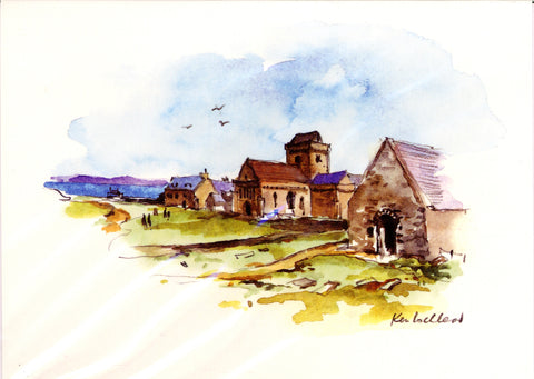 Ken Lochhead - The Abbey, Iona