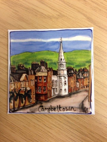 Fridge Magnet - Campbeltown Town Hall