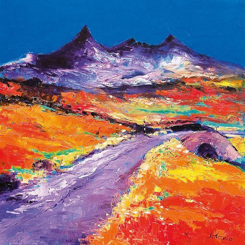 Jolomo Card - Road to the Cuillins Skye