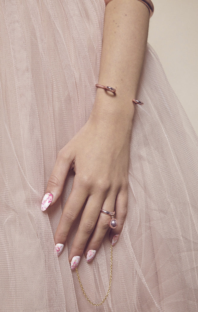 'CANDY BLUSH' CHARM RING