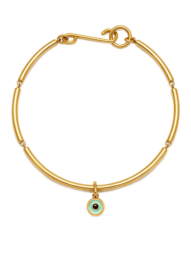 'BEVERLY HILLS DOLLS' NECKLACE WITH EYE CHARM