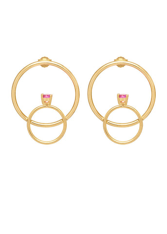 'LOLITA' PRINCESS RING HOOPS