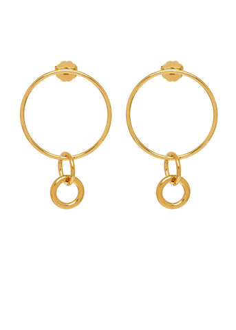 THE ORIGINS Hoops with Charms