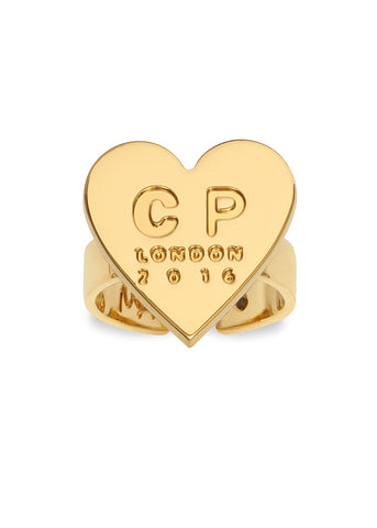 'MFP X CAITLIN PRICE' HEART RING