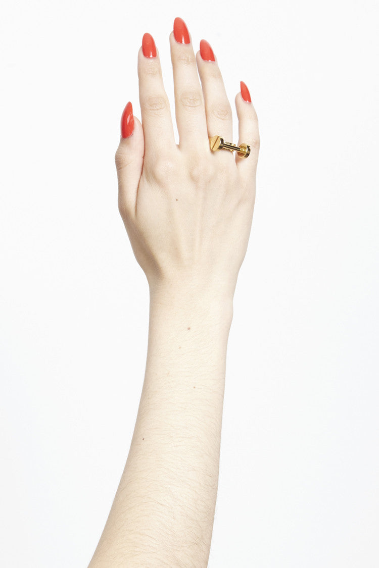 MFP X CAITLIN PRICE' T-BAR RING