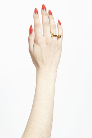MFP X CAITLIN PRICE T-BAR RING