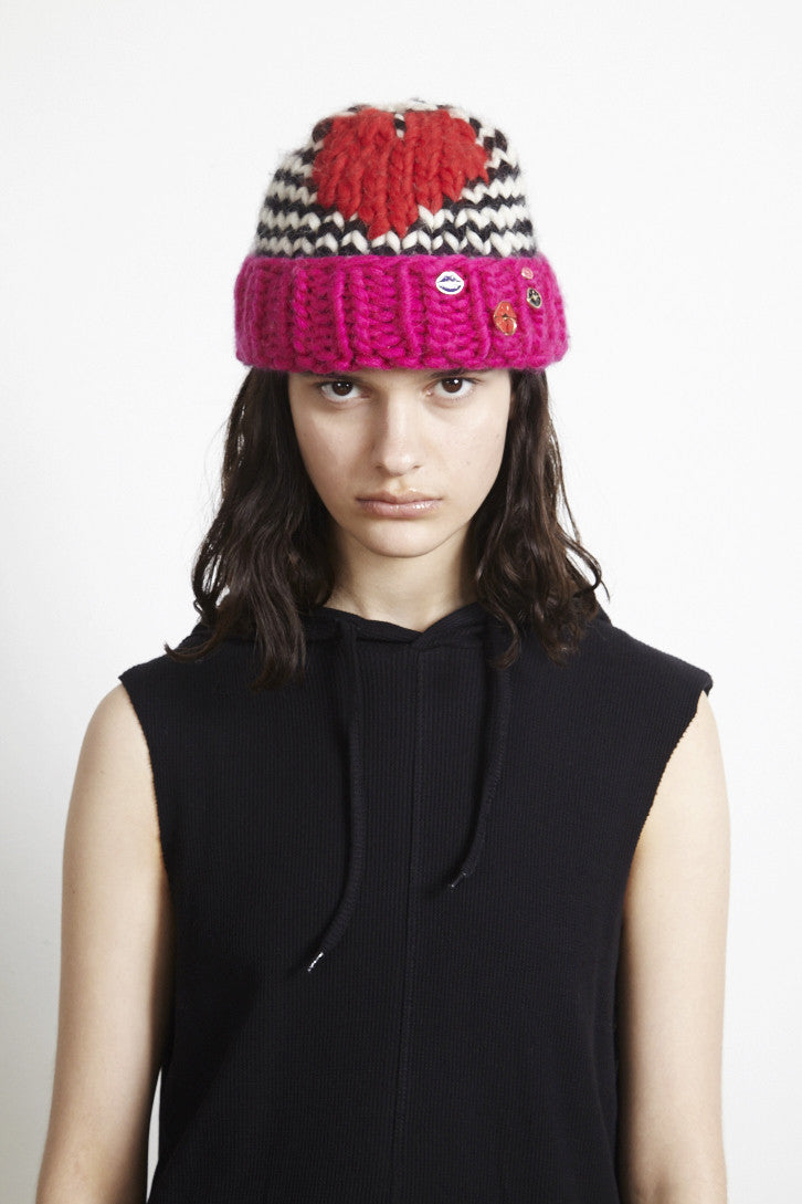 MFP X WOOL AND THE GANG 'PUNK KISS' BEANIE