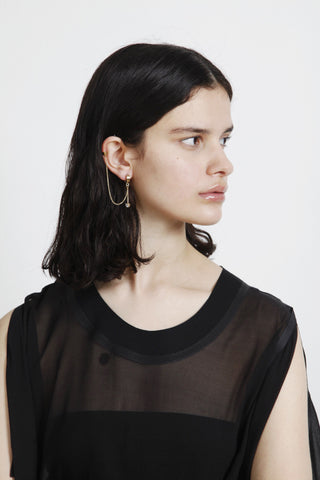 THE BLING RING' ASYMMETRIC EARRINGS