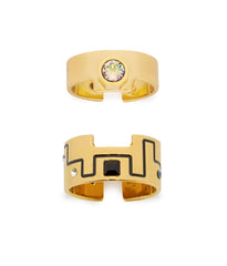 'IN THE CITY' RING SET