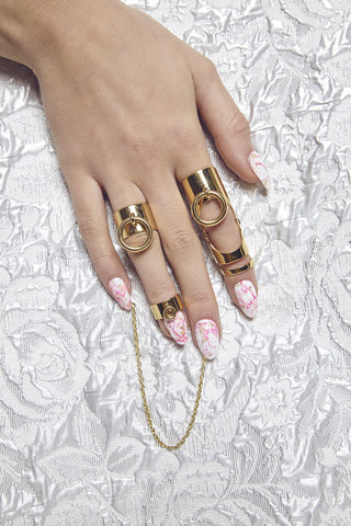 'BEVERLY HILLS DOLLS' MIDI BAND RING