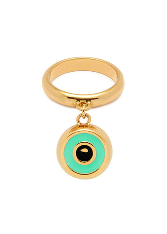 'BEVERLY HILLS DOLLS' RING WITH EYE CHARM