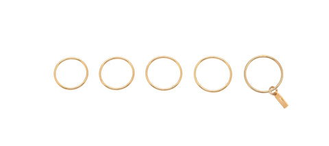 GALA' SET OF 5 FINGERS RINGS