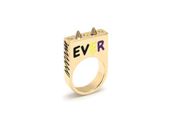 'GRAFFITI' FOREVER RING
