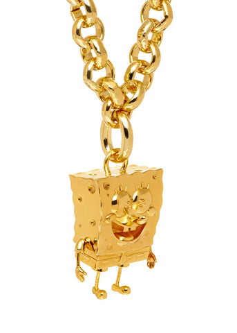 MFP x SPONGEBOB GOLD Statement Miniature Necklace