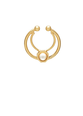 'ORBITAL' FAKE SEPTUM RING