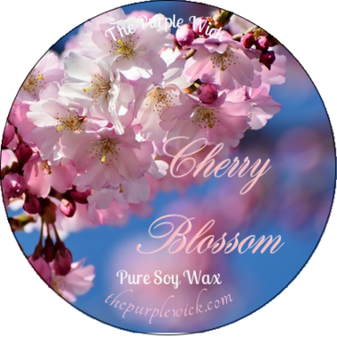 Cherry Blossom-The Purple Wick-The Purple Wick