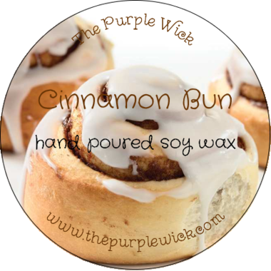 Cinnamon Bun-The Purple Wick-The Purple Wick