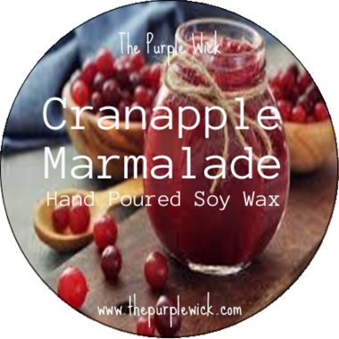 Cranapple Marmalade-The Purple Wick-The Purple Wick