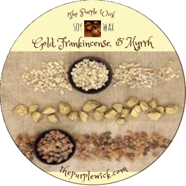Gold, Frankincense, & Myrrh-The Purple Wick-The Purple Wick